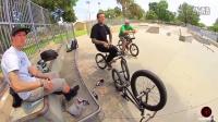 国外玩 小轮车的两个大神Alex Hiam & Ryan Guettler练习的一天