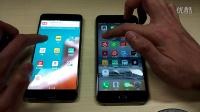 一加手机3T对比iPhone6s Plus软件启动速度