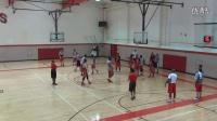 红鸟篮球队内训视频 4分钟篮板球争抢进攻练习rebounding drill