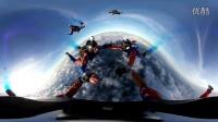360° VR 全景跳伞,景色太美
