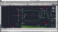 平面CAD眼镜绘图视频教程 第2课:眼镜图纸的认识一