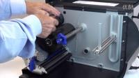 T6000 热转式打印机- 碳带及耗材安装