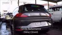 大众尚酷 改装CENDE森德排气 带阀门声音可变全段