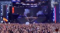 百大dj Marshmello超嗨劲爆现场 美国芝加哥电音节LOLLAPALOOZA 2016 (剪辑片段 第2段)