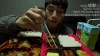 【韩国吃播】奔驰小哥庆祝ASMR频道100万订阅