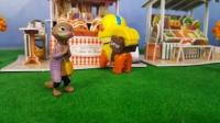 汪汪队立大功:水獭夫人遭遇抢劫 玩具动画 狗狗巡逻队 狗狗救援队 LEGO乐高玩偶