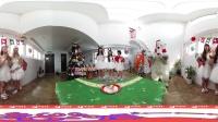 360 VR 全景 虚拟现实 OH MY GIRL(오마이걸)化身圣诞女郎和你共渡圣诞_White