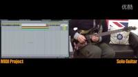 【吉他雨工作室】蒙古国乐队Haranga(哈仁嘎)一首曲子的间奏电吉他SOLO。