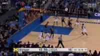 TJ Leaf UCLA Bruins vs Michigan -- 21 Points, 8 Rebounds