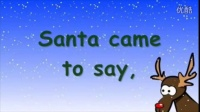 圣诞歌曲之一,Rudolf the rednosed reindeer,驯鹿鲁道夫之歌