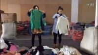平辉贸易12月12号13期 红袖新款春装风衣连衣裙低价批发走份