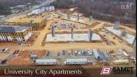 夏洛特大学城公寓项目【2016年12月9日项目工地视频】