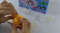 新型粘土手工作品:荷包蛋