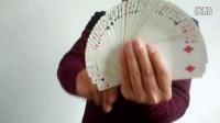24扑克必学技巧拉牌 压牌开扇 花切 控牌