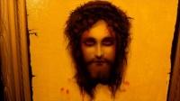 Framed 1920's Print -St. Veronica's Handkerchief- - Jesus Christ