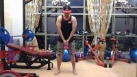 【高尔夫专项体能】下杆过程的重心转移训练