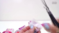 Hello Kitty Clay   Play doh STOP MOTION Animation Surprise Egg CUBES