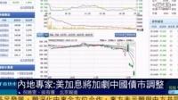 内地专家:美国加息将加剧中国债市调整