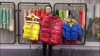 12月17号 平辉贸易 品牌红蜻蜓男女童系列冬装视频走份