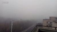 雾霾下的锦州动物园