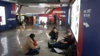 161219MON 吉他弹唱 TONY大叔 新街口 地铁二号线 友谊商场 地下通道 (3)