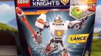 【细节鉴赏】LEGO 乐高 70366 未来骑士团系 兰斯超级战斗机甲