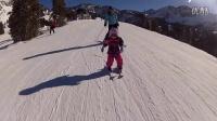 """和孩子一起学滑雪:最重要一课""""刹车"""""""