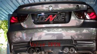 BMW宝马320改CENDE森德排气