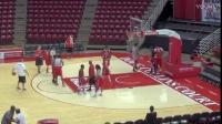 红鸟篮球队内训 团队对抗攻防转换防守练习Transition Defense
