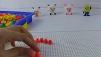 羊村的羊羊和小黄人一起玩游戏