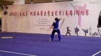 2016陕西省大学生武术套路比赛-西安交大-李柏林-自选剑术第二名