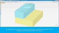 PLAXIS 3D 直立岩壁开挖稳定性分析