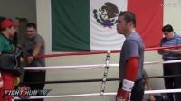 【二先生拳击视频】看看备战库托期间阿尔瓦雷兹是如何虐待(狂揍)腰把(教练)的【典藏超清】
