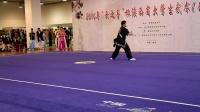 2016陕西省大学生武术套路比赛-西安交大-吴限-自选棍术第三名