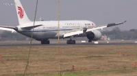 中国国际航空 波音789 B-7832 成都双流机场降落 蒋蕴龙