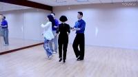 深圳舞蹈网成人摩登舞交谊舞班课间练习