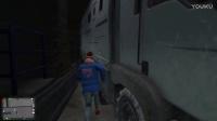 GTA5(侠盗猎车手5)搞笑解说丨《砸车三少》#5 破烂车砸地铁站