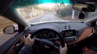 视车评 边开边聊 雪弗兰科沃兹试驾 主视角高速公路驾驶