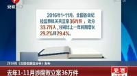 2016年《反腐倡廉蓝皮书》发布 去年1-11月涉腐败立案36万件