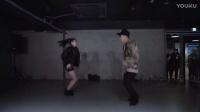 【1M】笑眼妹Yoojung合作Koosung双人舞My Favorite Part(2)_舞蹈教程_慢速镜面版
