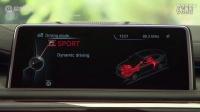全新一代宝马X6内饰 超大液晶显示屏_高清