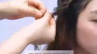短发盘发 玫瑰新娘发型编发