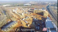 夏洛特大学城公寓项目【2017年1月项目工地视频】