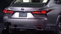 卷土重来日系旗舰Lexus雷克萨斯2018款LS500高清视频大片鉴赏