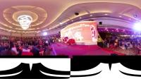 360 VR 全景 虚拟现实 精彩醒狮齐采地青贺庆典!@广州市白眉拳会成立27周年晚会现场