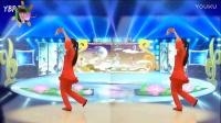 阳光美梅广场舞【DJ新年好】原创32步-手绢舞-编舞-演示:美梅