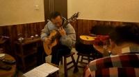 170115SUN 吉他弹唱 独奏 二重奏 老弟兄 珠江路 餐馆 南京 (9)