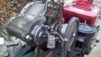 老乡发明的单缸柴油机,机械全自动免摇启动器,可牛气了!