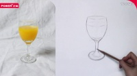 正能-《素描初学者入门从石膏到静物》-单体静物 高脚杯
