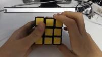 魔方教程6 三阶魔方一看就懂六面视频教程第六步【还原顶层角块顺序】